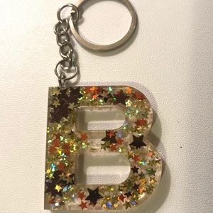 B keychain!